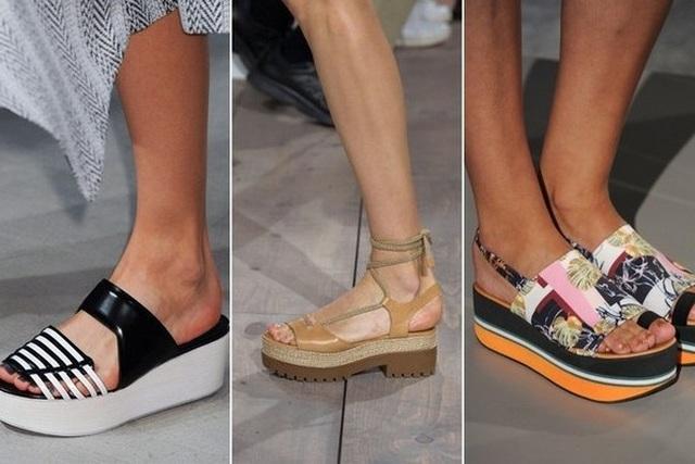 женская обувь Весна-Лето 2018, модные тенденции