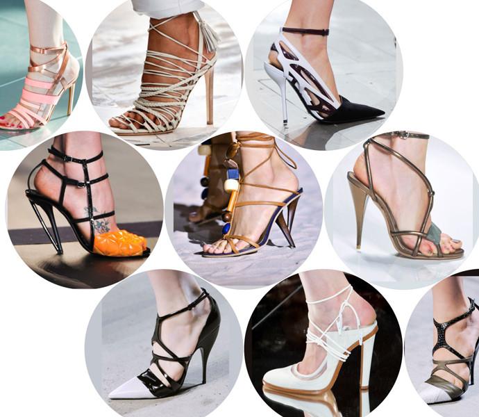обувь на тонком каблуке