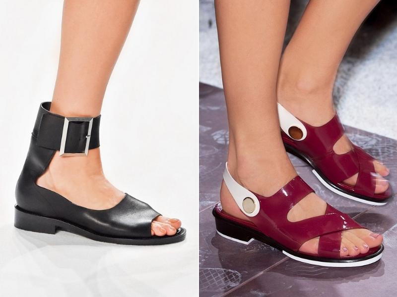 сандалии / ботинки с носками