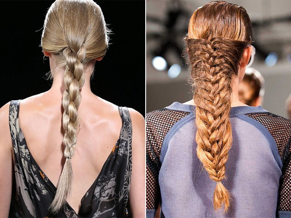 Прически из косы тенденции