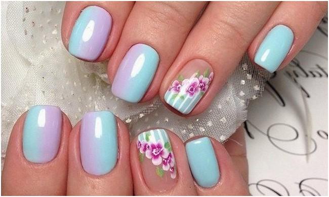 Лак для ногтей весна-лето осень -зима фото