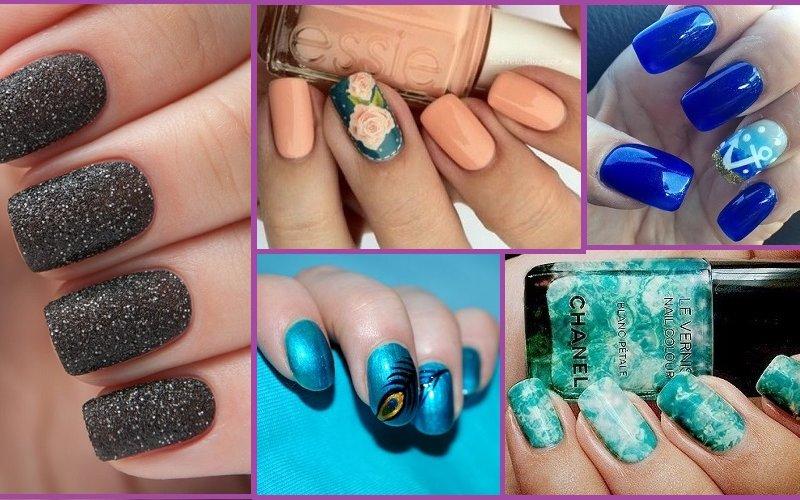 как сделать красивые ногти осень-зима 2016-2017 своими руками 2