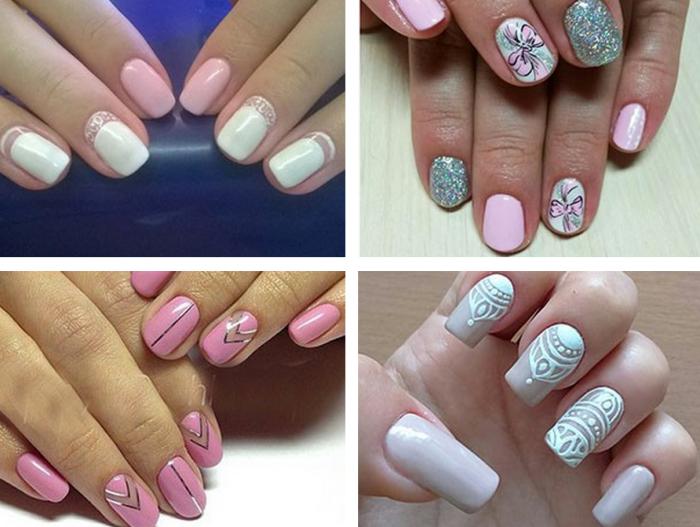 какие рисунки на ногтях можно сделать 1