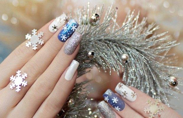 красивые и модные ногти осень-зима 2016-2017 на фото 1