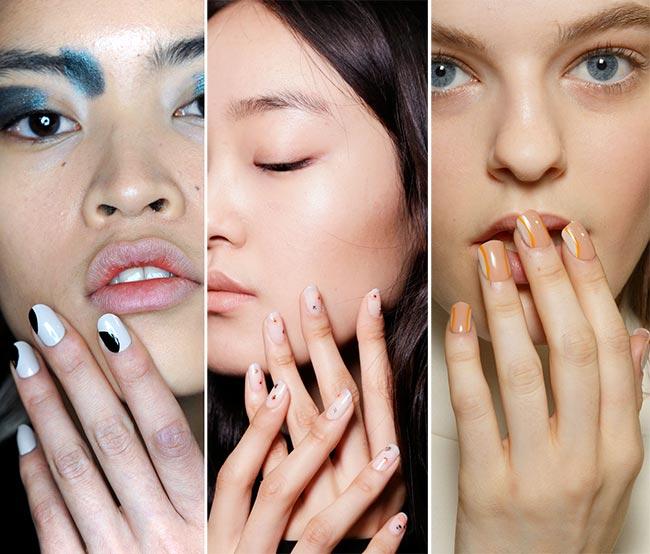 красивые и модные ногти осень-зима 2016-2017 на фото 2
