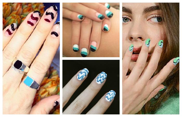 красивые и модные ногти осень-зима 2016-2017 на фото 3