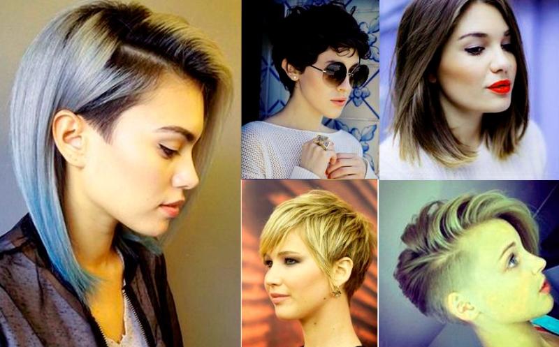 фото укладок на средние волосы 1