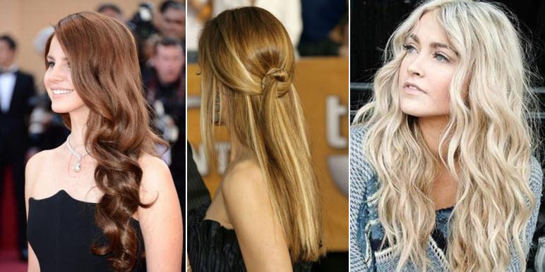 фото модных причесок на длинные волосы сезона осень-зима 2016-2017 1