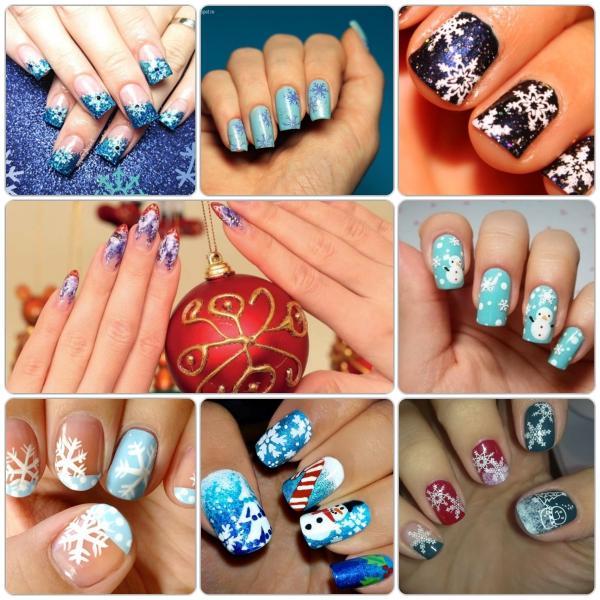 рисунки на ногтях на фото 1