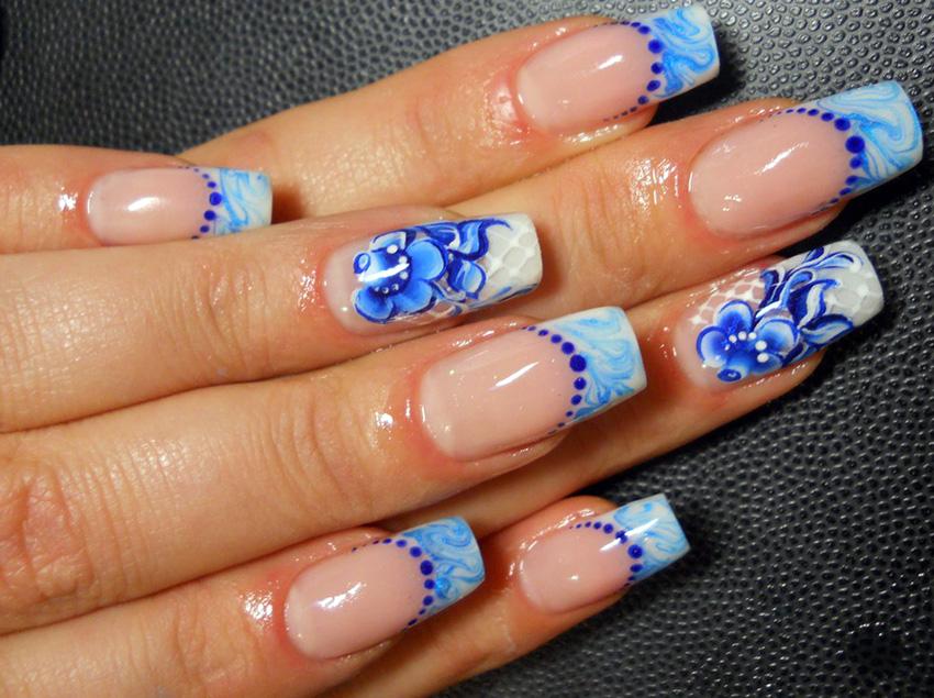 рисунки на ногтях на фото 2