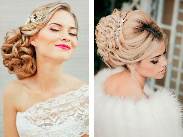 фото модных свадебных причесок осени и зимы 2016-2017 года 4