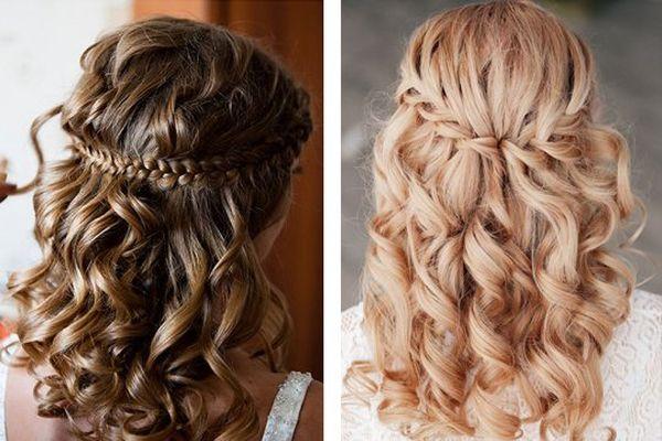 свадебные прически на основе кос (плетений) 2