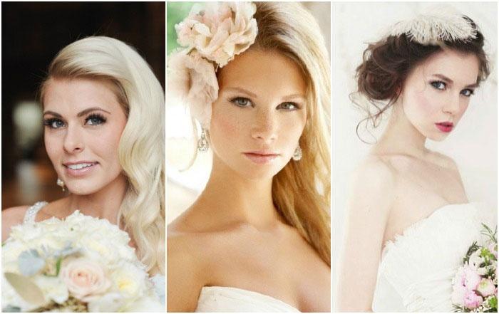 красивый и модный свадебный макияж, фото осенне-зимнего сезона 2016-2017 1