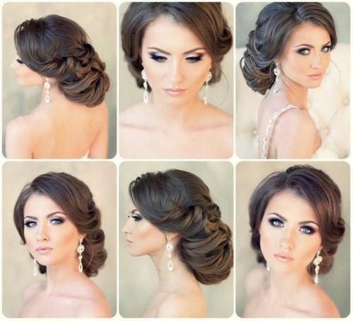 красивый и модный свадебный макияж, фото осенне-зимнего сезона 2016-2017 3