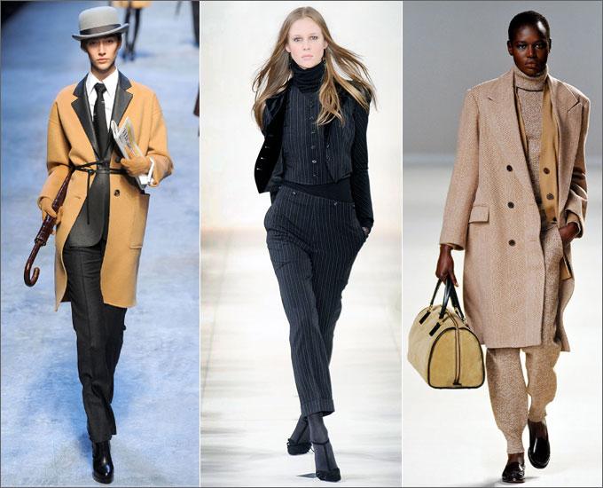пальто мужского типа