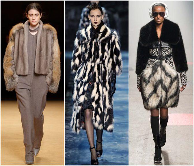 Модные шубы на эту зиму