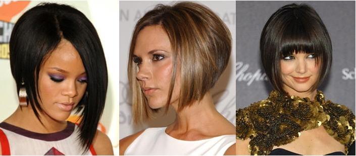 разное обрамление волос