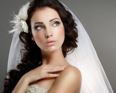 Макияж невесты для брюнеток