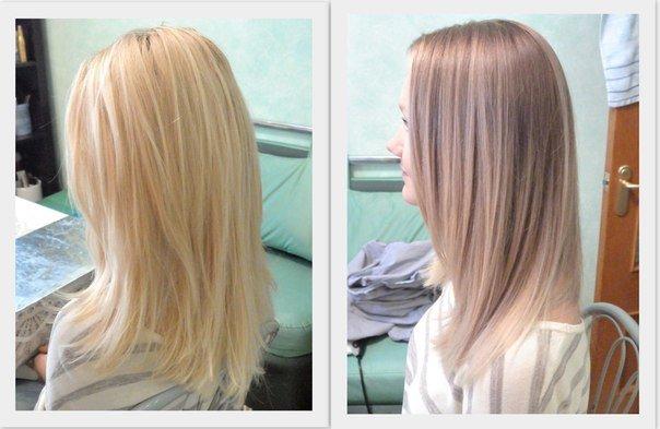 натуральные (не окрашенные) волосы