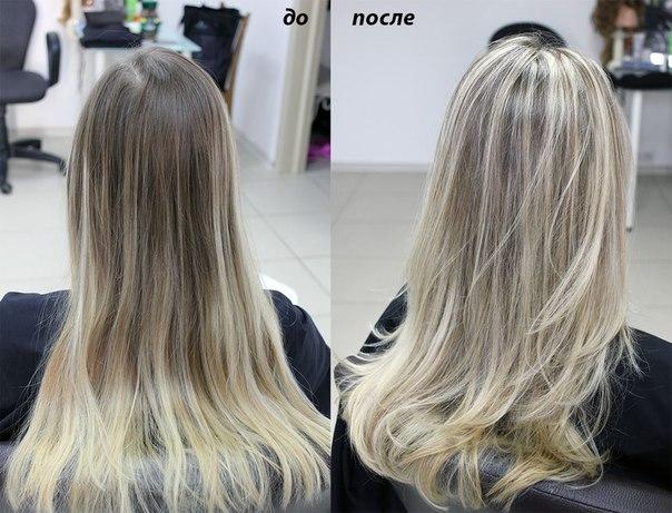 Сложное окрашивание волос фото на короткие волосы 261