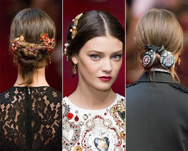 модные аксессуары для волос 2