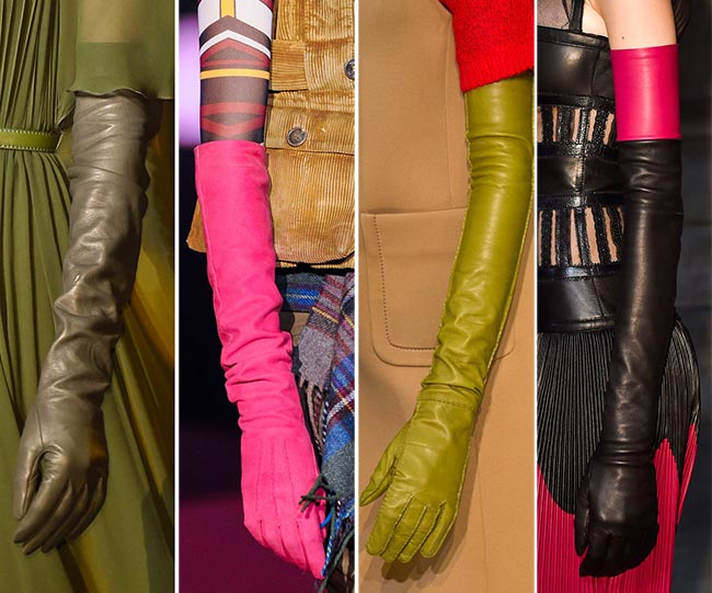 модные длинные перчатки 1