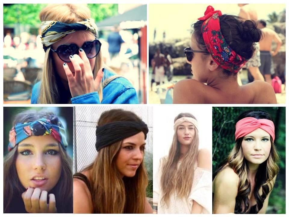 модные повязки для волос 2017, модные тенденции на фото