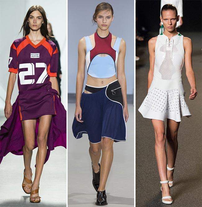 платья в стиле спорт