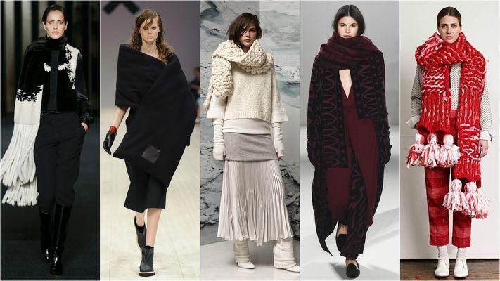 модные шарфы на осень и зиму 2016-2017, фото 1