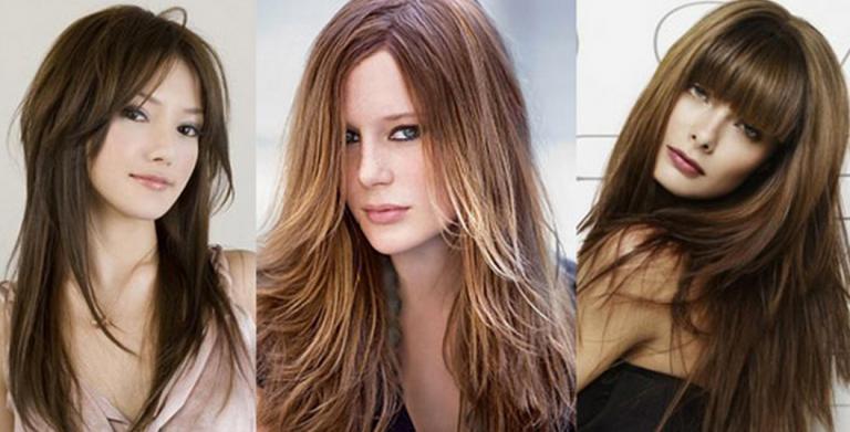 стрижки на длинные волосы 2019, модные тенденции + фото 1