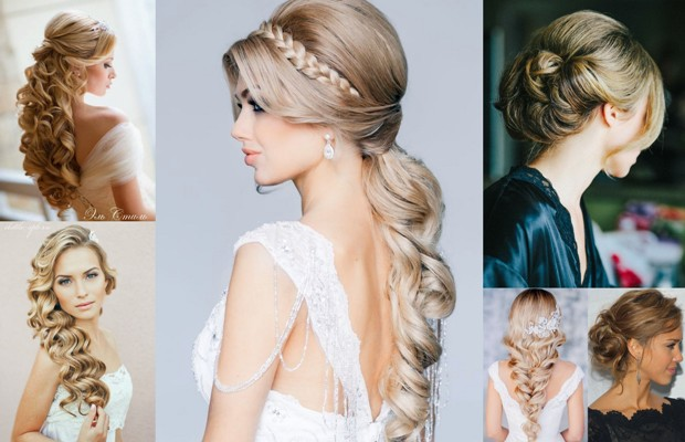 фото модных и красивых свадебных причесок осенне-зимнего сезона 2016-2017 4