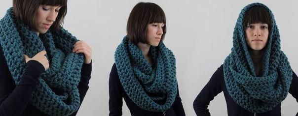 шарф-снуд (хомут)