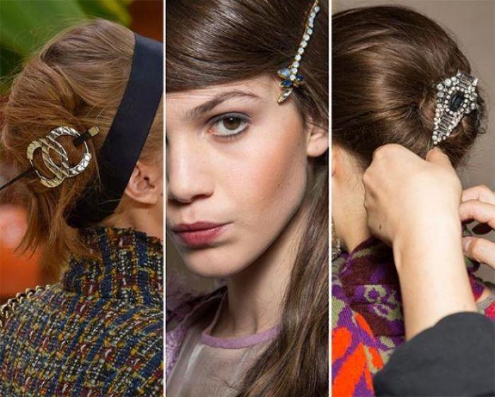 какие заколки для волос будут в моде в 2017 году