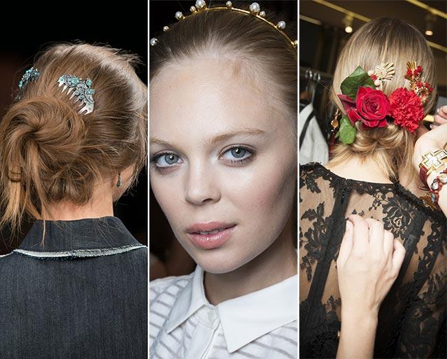 модные заколки для волос 2017, фото + идеи