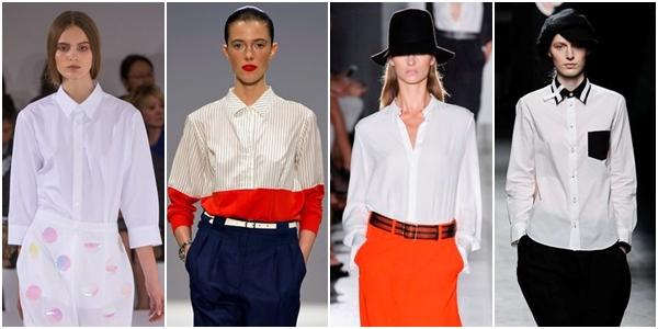 классически блузки-рубашки 1
