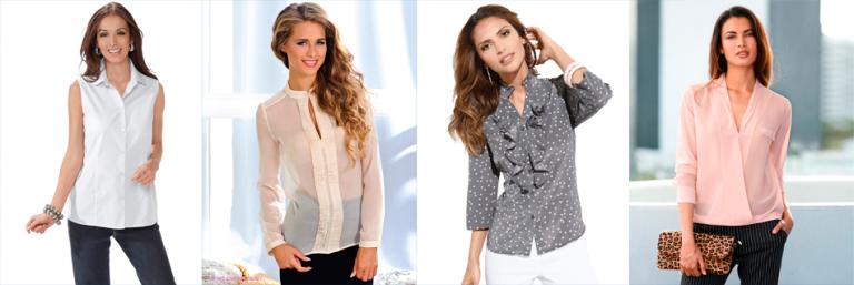 классически блузки-рубашки 2