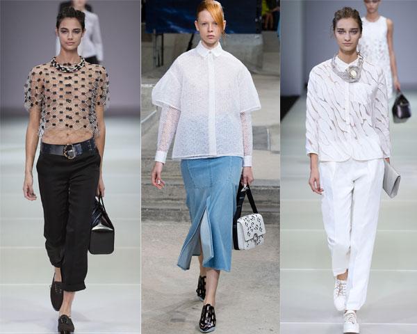 прозрачные и полупрозрачные блузки 2