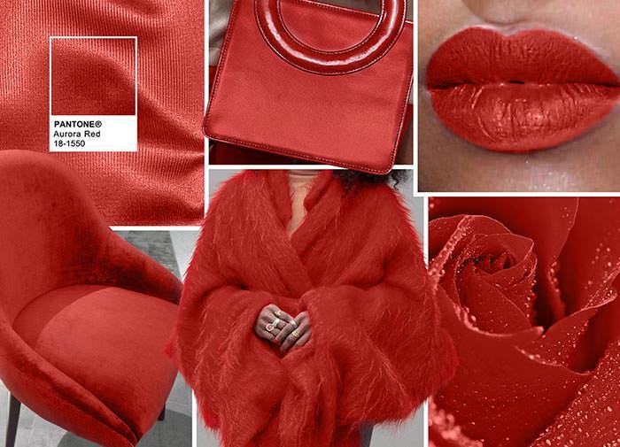 красный и все его оттенки
