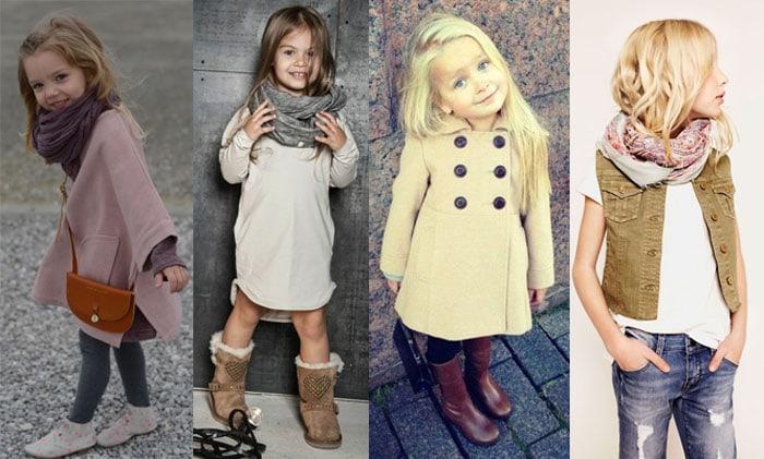 детская одежда осень-зима 2016-2017, стилевые решения 1