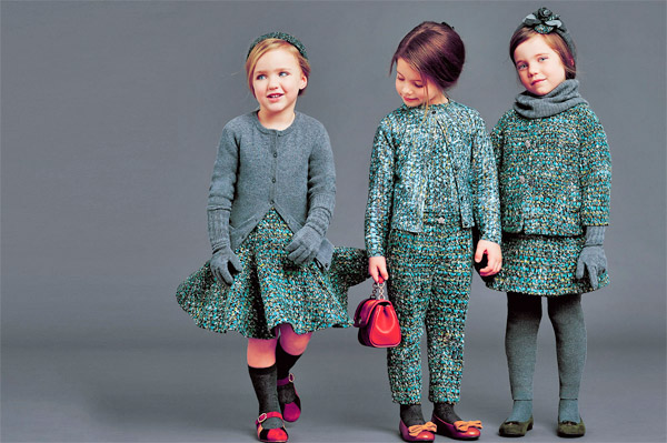 детская мода, фото одежды осенне-зимнего сезона 2016-2017 3