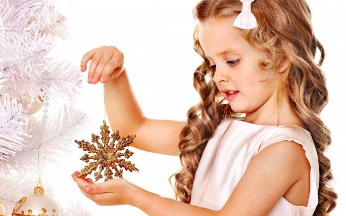 Детские прически для девочек на Новый год