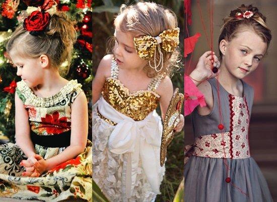 модные и красивые детские прически на Новый год 2018, фото 1