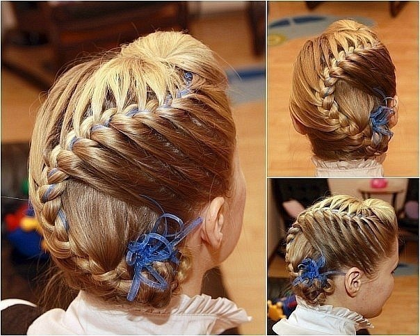косы и плетения