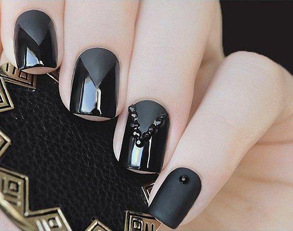 матовый черный 2