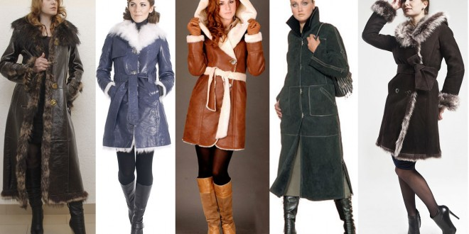 модные дубленки осень-зима 2016-2017, фото 1