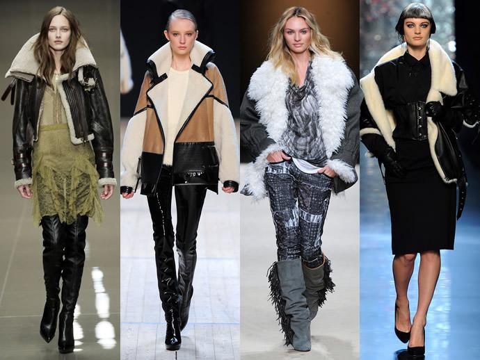 модные дубленки осень-зима 2016-2017, фото 4