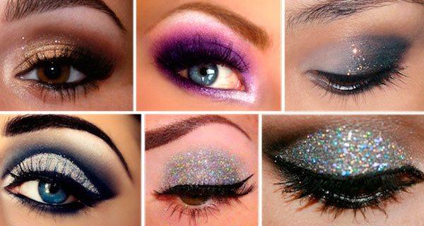 макияж со стразами 2