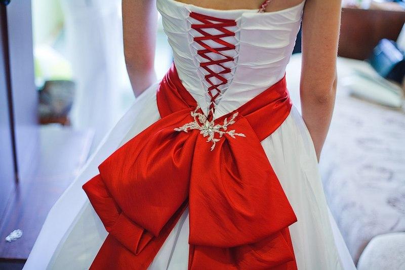 Бант украшение на платье своими руками