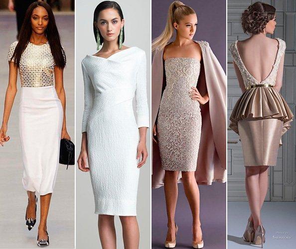 фото коктейльных платьев к Новому году 2