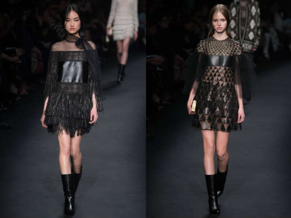 кожаные платья 1